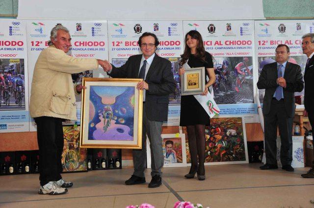 """Giacomino (Mino) Farolfi riceve il """"Premio Adriano De Zan"""
